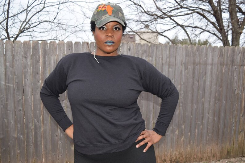 CBC  Kente and Camouflage Cap