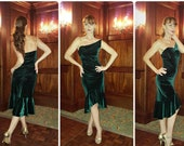Tango velvet dress Valentina