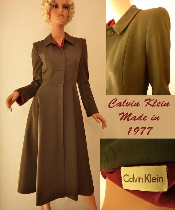 Mint Quality Couture Vintage 1970s Calvin Klein P… - image 1