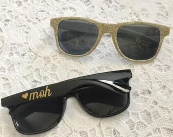 45500ecf27 Custom Bridal Party Sunglasses - Party Sunglasses - Bachelorette Sunglasses  - Wedding Sunglasses - Personalized Sunglasses - Custom Sunglass