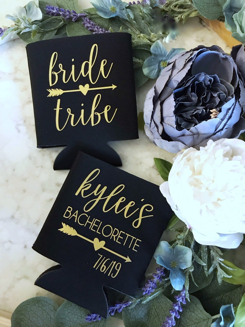 Custom Double Sided Bride Tribe Coolers  Bachelorette  Girls image 0