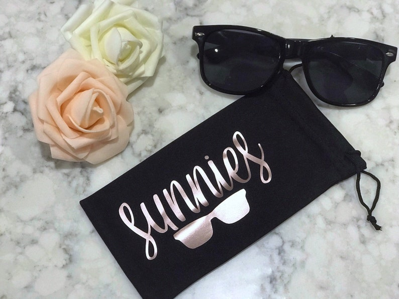 Custom Sunglass Pouch  Sunglasses Sleeve  Microfiber image 0