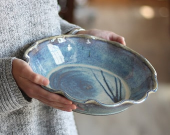 Handmade Pottery | Large Pie Plate (10 colors)