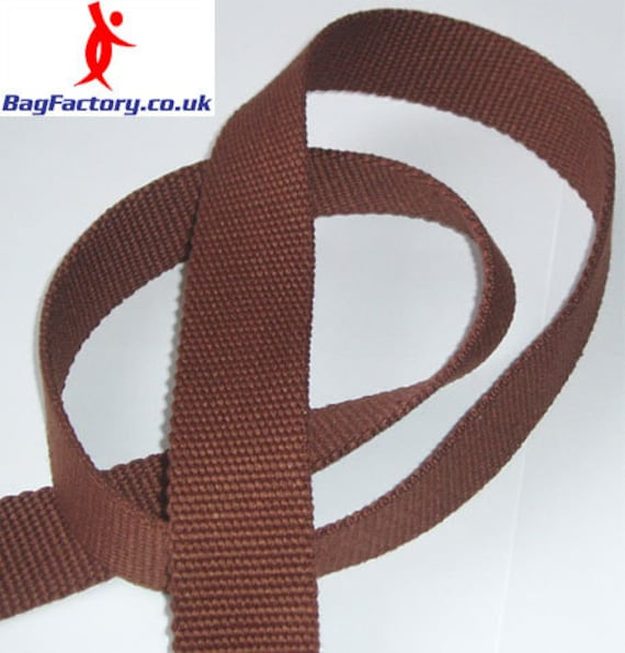 38mm CANVAS TAPE HEAVY COTTON BUNTING WEBBING DECORATION HANDLES