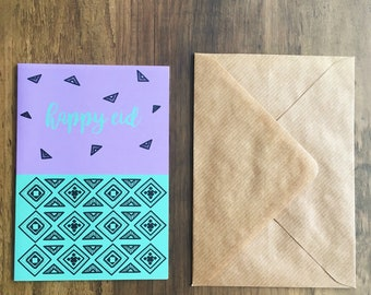 Aztec inspired Eid Cards