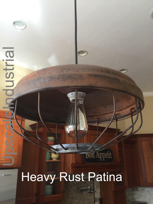 Ceiling Light/Chicken Feeder Pendant Light/Industrial Pendant ...