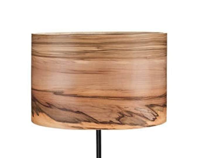 Floor Lamp - Wooden Lamp - Modern Floor Lamp - Natural Wood Shade - Veneer Floor Lamp - Lampshades - Wood Lamps