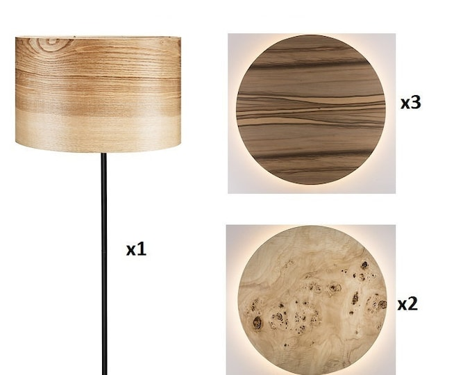 Special Order for Angie - Set of 6 lamps