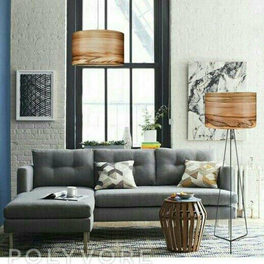 Wooden Floor Lamp Wood Lamps Modern Veneer Lamps Lighting