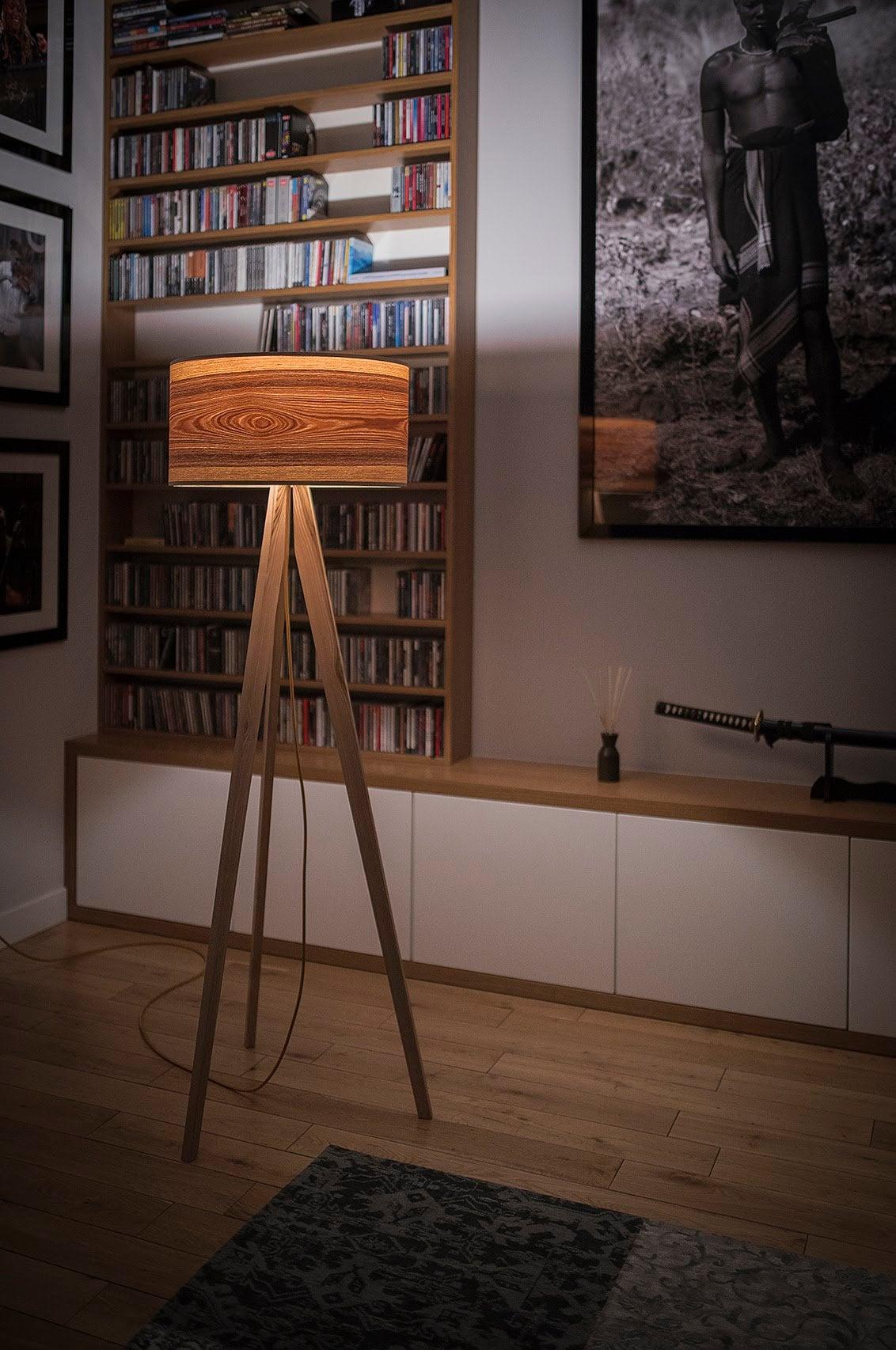 Tripod Floor Lamps Wooden Floor Lamps Scandinavian