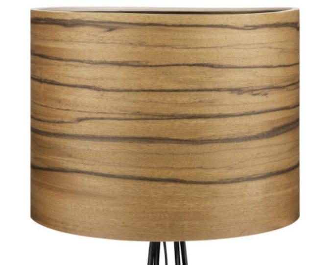 BERG Design Floor Lamp - Bolivian Walnut Veneer - Home Interior Lighting - Home Decor - Modern Meets Nature