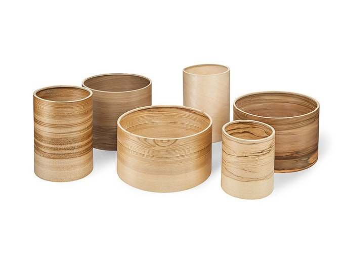 Lampshade - Design Your Own Wooden Veneer Lampshade - Natural Wood