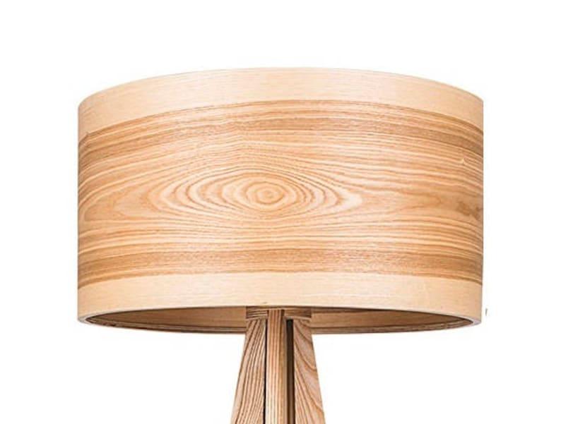 Tripod Floor Lamps, Wooden Floor Lamps, Scandinavian Lighting, Tripod Lamp  Base, Nordic Decor, Natural Wood, Unique Ash Wooden Shade