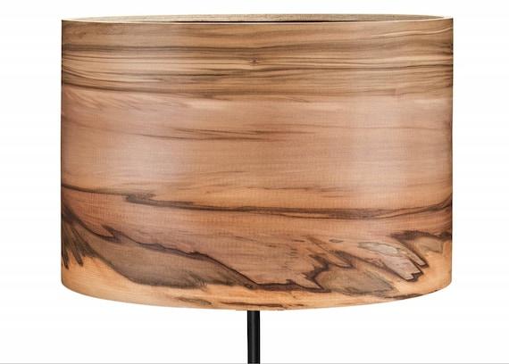 Stehleuchte Holz Stehleuchte Furnier Lampenschirm | Etsy