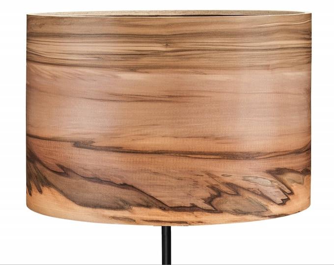 Floor Lamp - Wooden Floor Lamp -  Veneer Lampshade - Natural Wood Veneer - Wood Floor Lamp - Gift for Wedding