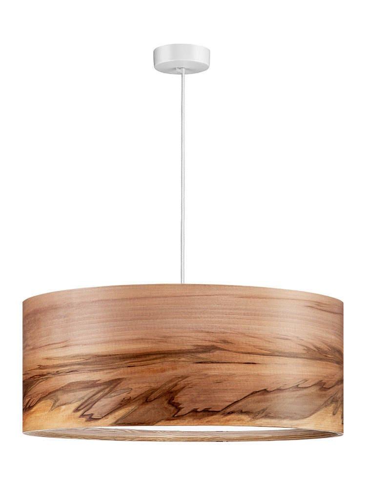 3 Bulbs Pendant Light Wood Lamp Shade Wooden