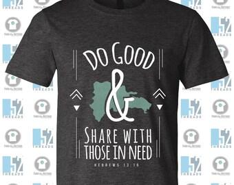 3913a702 Jennifer Marziano Mission Trip Hebrews 13:16 | Christian Shirt | Mission  Shirt | #FundTheNations