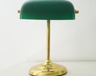 English banker Lamp
