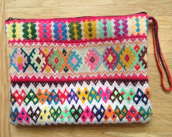 Handwoven Bag from Original Peruvian Textile