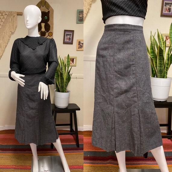 Vintage Wool Skirt Vintage Jordache Riding Skirt P