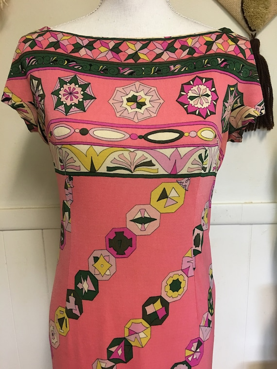 Vintage Pucci Dress Silk Pucci Dress 1960s Pucci … - image 2