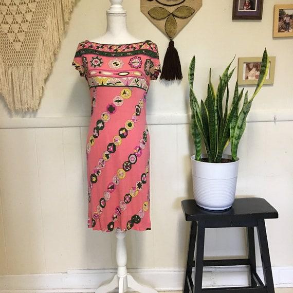 Vintage Pucci Dress Silk Pucci Dress 1960s Pucci 1