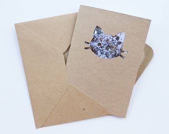 Cat Confetti Card