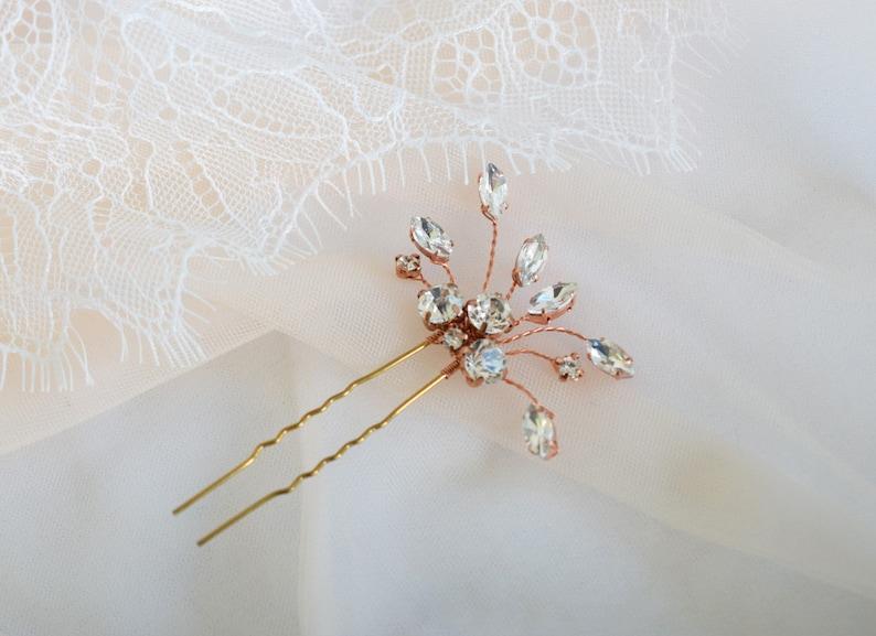 Rhinestone Bridal Hair Pins