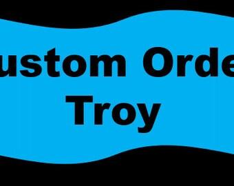 Custom Order for Troy