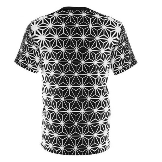 ASHANOA - Trippy Tee spirituelle, illustré chemise chemise chemise d'Art visionnaire, Rave T-shirt, Top pour l'homme urbain, Streetwear Boho Tshirt, chemise Hippie, rue f9dbf5