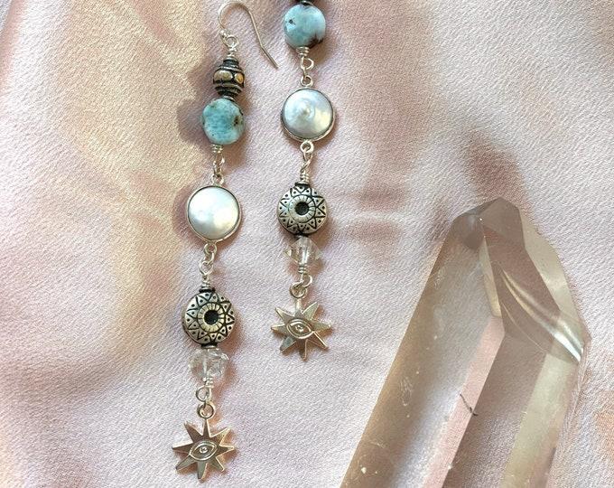 Featured listing image: Evil Eye Star Earrings