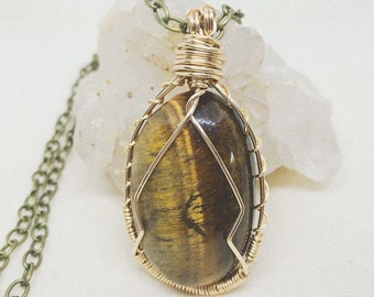 Tiger's Eye Pendent
