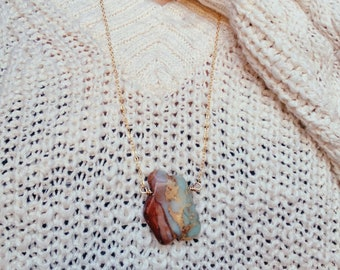 Snakeskin Jasper Necklace