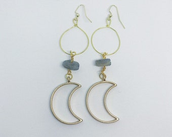 Moon Talisman Earrings