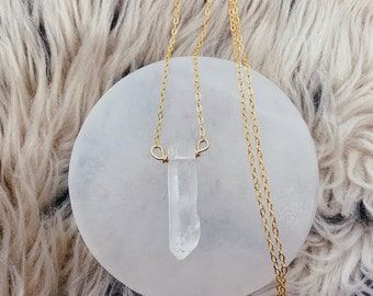 Quartz Layerable Necklace
