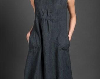 5a9c3733af Organic linen dress