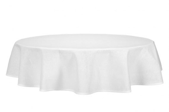 linen round oval tablecloth white linen table top linen etsy. Black Bedroom Furniture Sets. Home Design Ideas