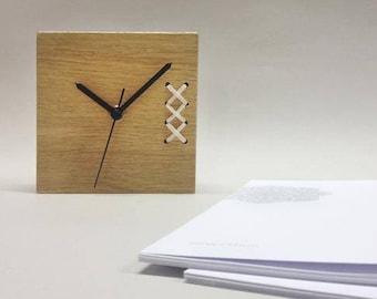 Mens Office Decor, Table Clock, Modern Desk Clock, Unique Desk Clock,  Wooden Clock Designs, Housewarming Gifts, Office Gifts, Desk Decor
