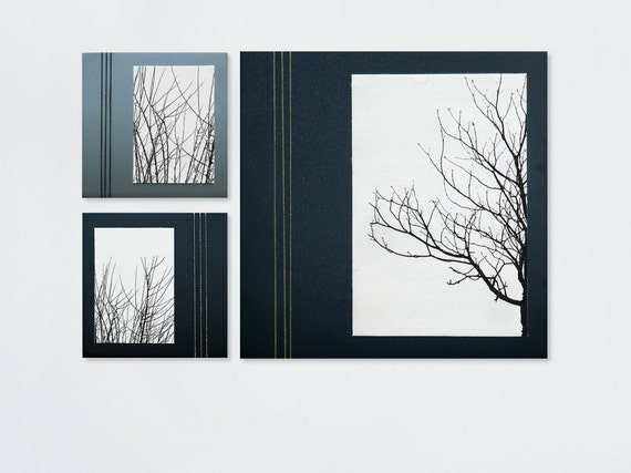 Set Of 3 Pictures Black And White Tree Art 3 Piece Canvas Art Black And White Tree Canvas Set Of Pictures For Wall Living Room Wall Art