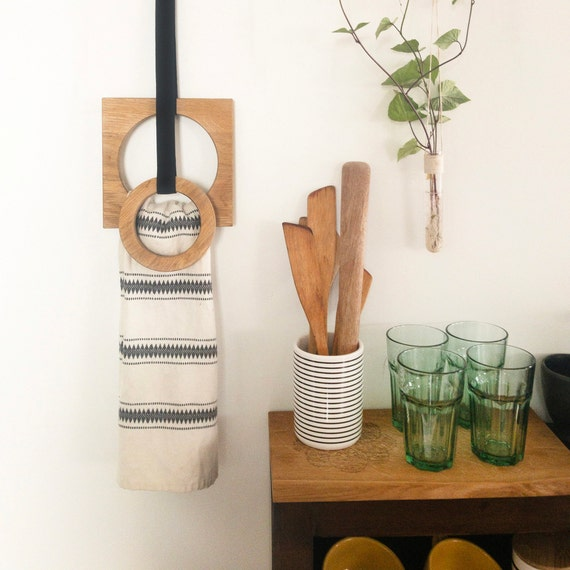 Towel Wall Hooks, Wooden Hangers For Kitchen, Hand Towel Holder, Towel  Rack, Modern Decor, Dish Towel Holder, Decoration Gifts For The House