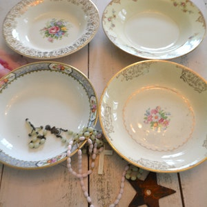 Painted Cottage Prairie Shabby Chic Vintage China Mix and Match Wedding Tea Cup Collection TC1