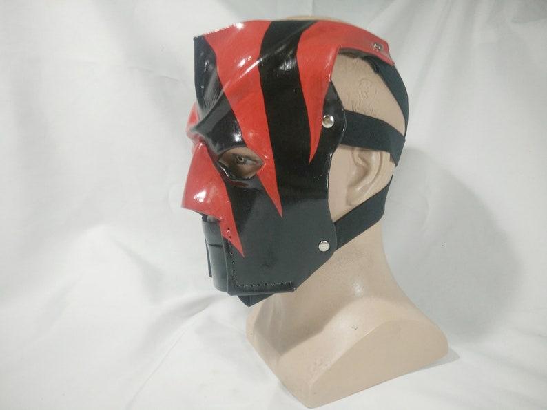 Leather Kane Mask Replica 2000-2002 Version 2 Halloween