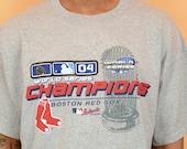 Deadstock Boston Red Sox World Series Tee Shirt Vintage XL