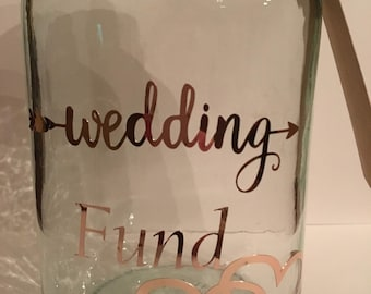 Wedding Fund Jar Etsy