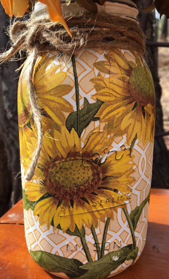 Rustic Sunflower Decor Cubicle Office For Etsy