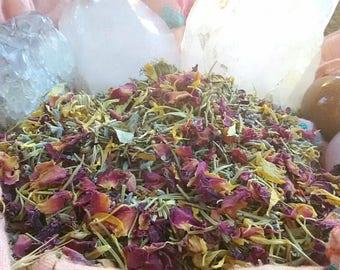 Organic Herbal Blend | Yoni Steam, Facial Steam, Tea Bath & Yoni Egg Soak | Lavender, Rosemary, Calendula, Rose Petals, Oregano