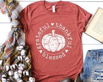 740f1809a Pumpkin Shirt - Thanksgiving Shirt - Fall Shirt Women - Fall tshirt - Fall  Pumpkin Shirt - Fall Graphic Tee - Pumpkin Shirt Women