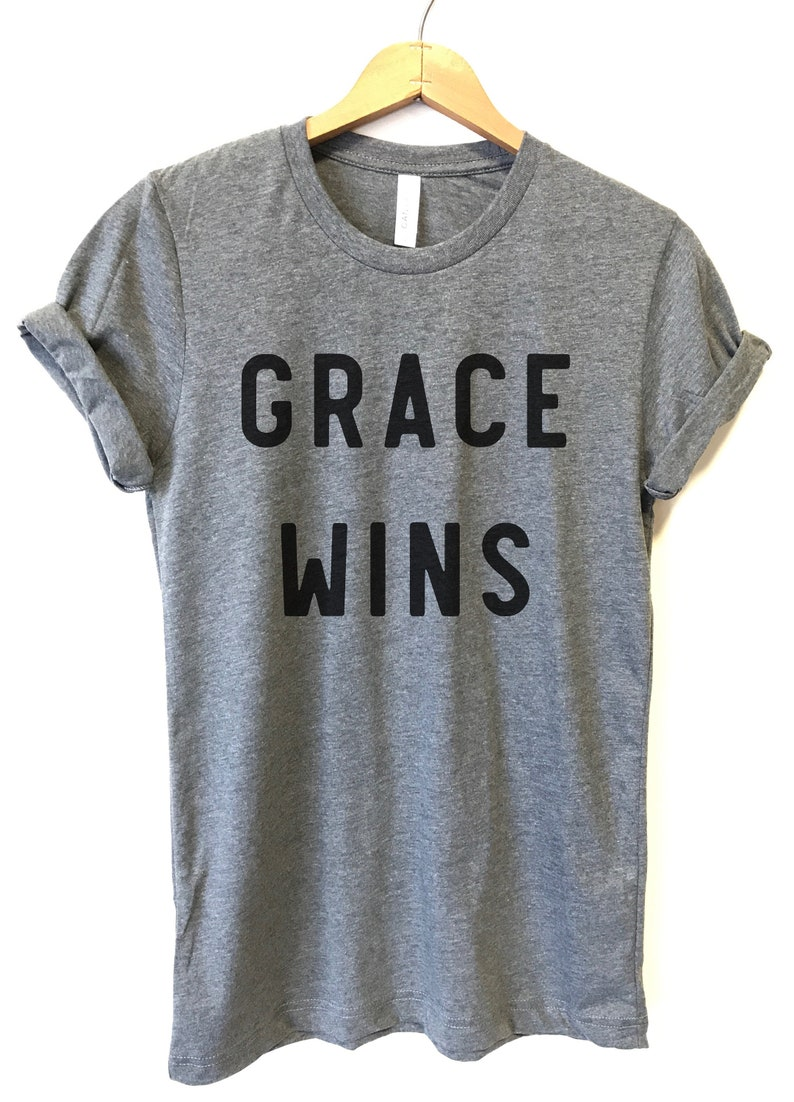 0b821503 Grace Wins Shirt Grace Shirt T Shirts for Women Graphic | Etsy