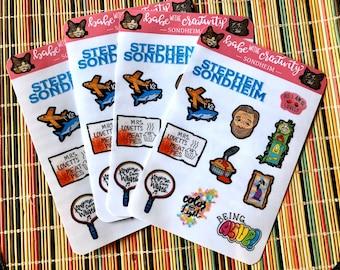 Sondheim Sticker Sheet x1