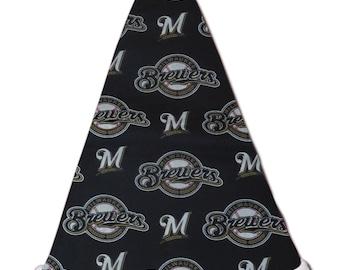 NEW MLB Milwaukee Brewers Christmas Baseball Santa Hat Personalized 18